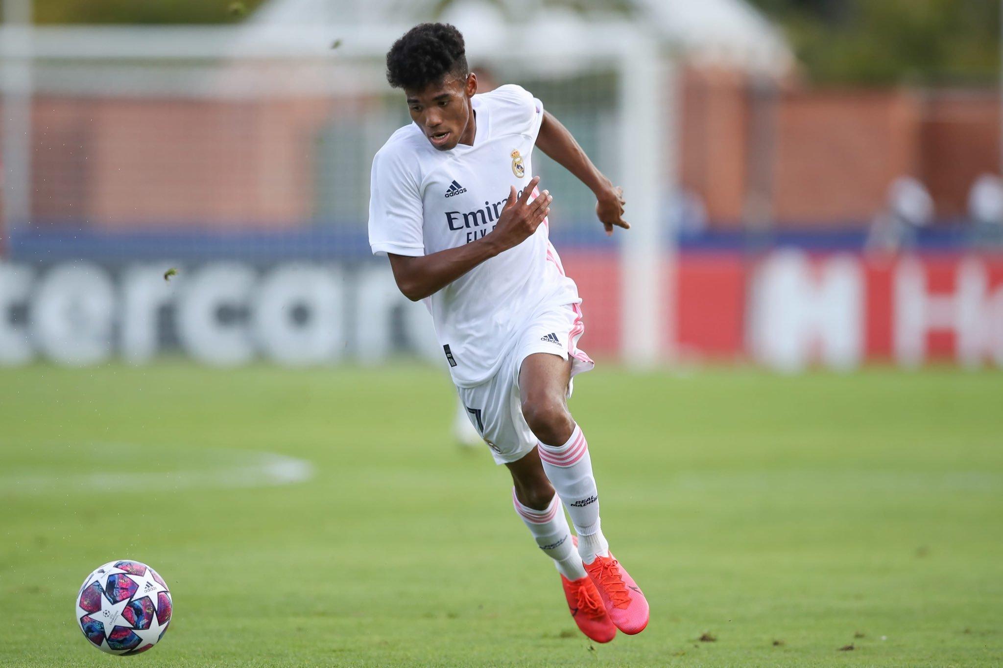 Marvin, durante el partido de ayer en San Sebastián.