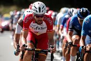 Herrada, durante la 18ª etapa del Tour, con final en La Roche-sur-Foron.