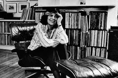 Susan Sontag, en 1989.