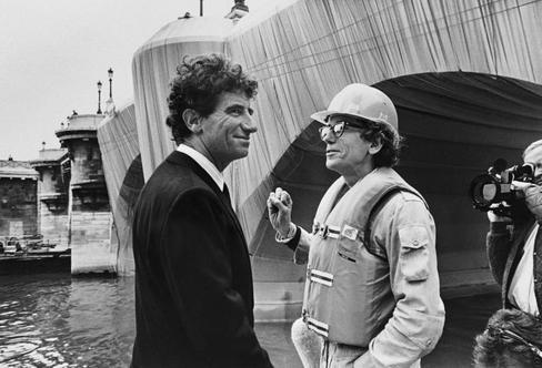 Cuando Christo y Jean Claude envolvieron el Pont Neuf de París