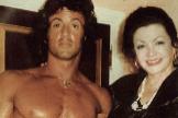 Jackie Stallone con su hijo Silvester, en una imagen de archivo.