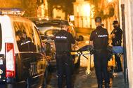 Los hechos sucedieron ayer lunes en la calle Loureiros de Santiago.