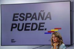 Ministra de Trabajo, Yolanda Díaz,