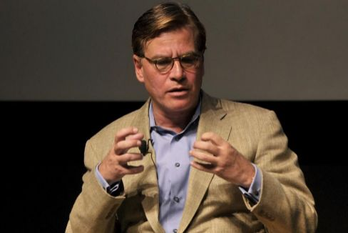 """Aaron Sorkin: """"No hay nada más americano que protestar"""""""