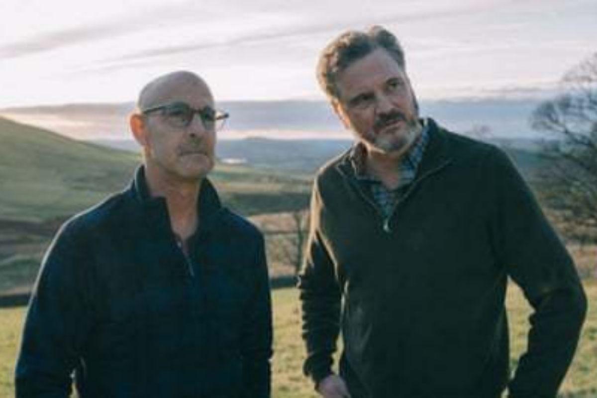 Stanley Tucci y Colin Firth en 'Supernova'.