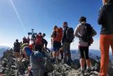 Masificación en el Alto Pirineo con colas para hacerse selfies a más de 3.000 metros de altura