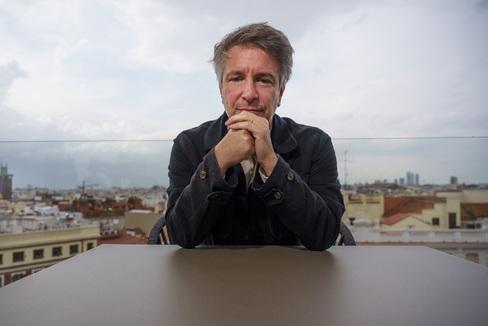 Angel Navarrete 17/09/2020 Madrid, Comunidad de Madrid El escritor francés Eric lt;HIT gt;Vuillard lt;/HIT gt;