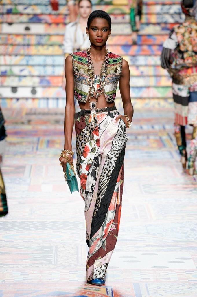 Desfile de Dolce & Gabbana - Colección primavera-verano 2021 - Semana de la Moda de Milán
