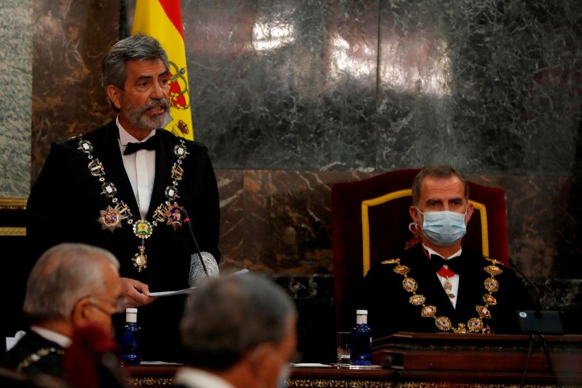 """Lesmes dará en Barcelona una """"respuesta institucional"""" al desaire del Gobierno con el Rey"""