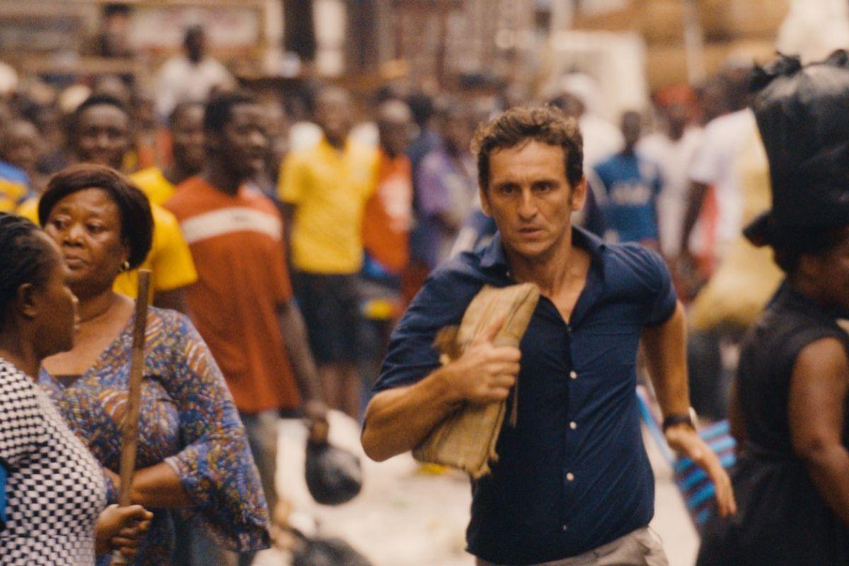 La película incluye varias escenas de acción que fuero rodadas en parte en Ghana.