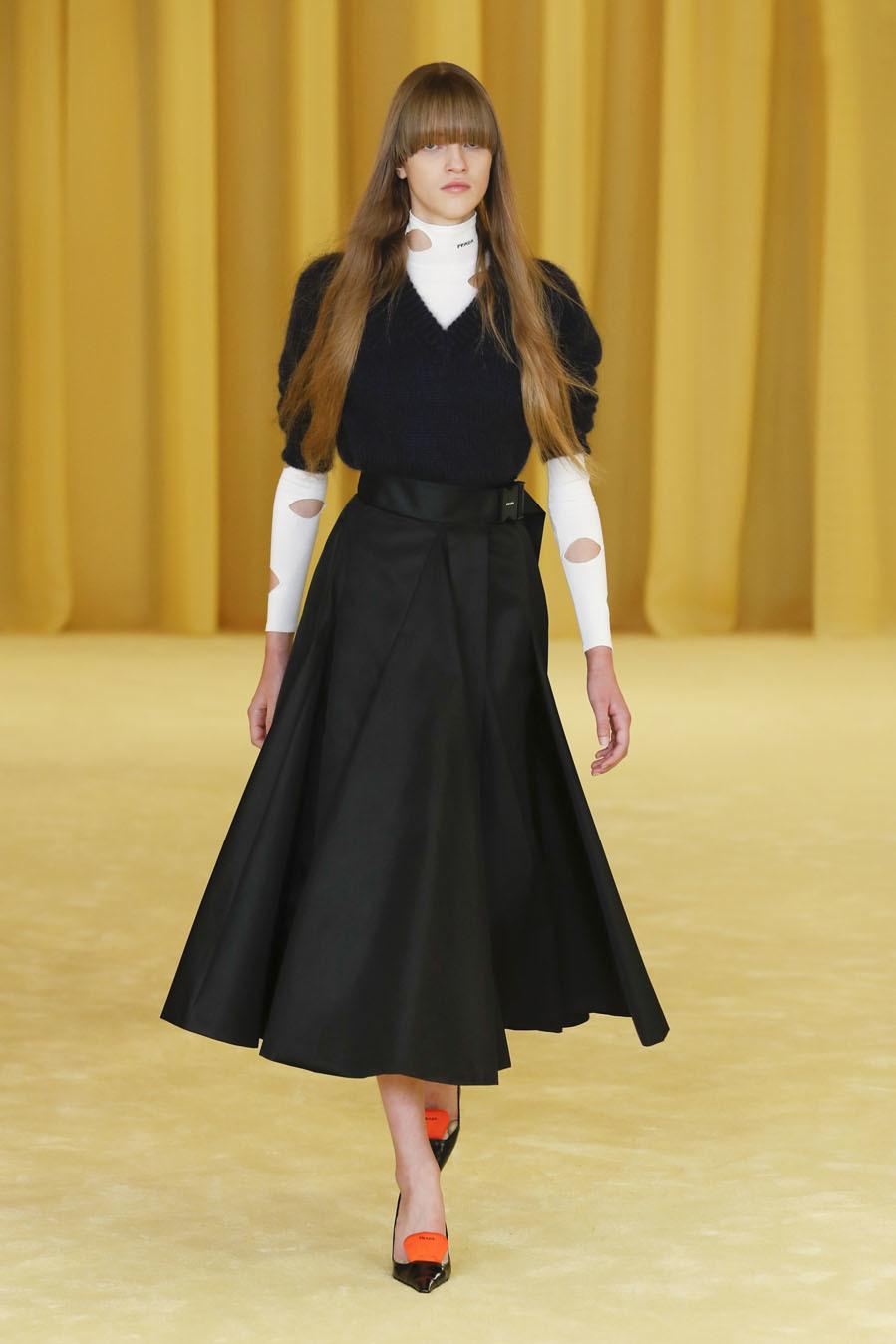 Desfile de Prada - Colección primavera-verano 2021 - Semana de la Moda de Milán