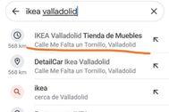 """""""Buscad en Google Ikea Valladolid"""": la calle con """"guasa"""" que provoca risas en Twitter"""