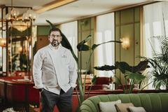 Dani García en su nuevo restaurante, en el cinco estrellas Four Seasons.