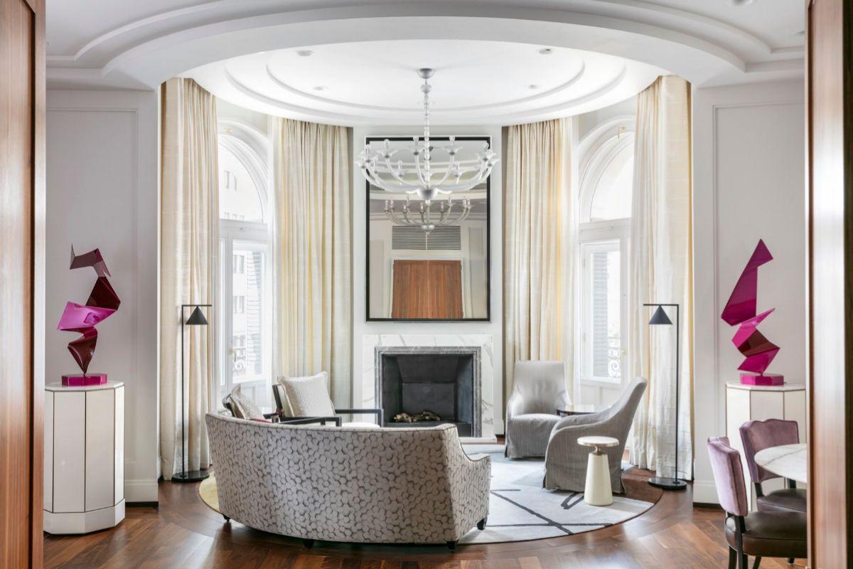 Una de las habitaciones más lujosas