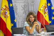 La ministra de trabajo Yolanda Díaz