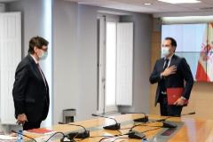 Ignacio Aguado junto al ministro Salvador Illa en una reunión reciente.