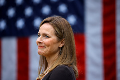 La juez Amy Coney Barrett.