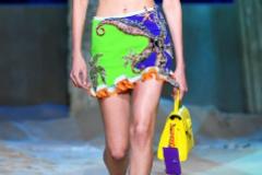 Desfile de Versace - Colección primavera-verano 2021 - Semana de la Moda de Milán