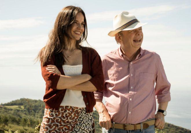 Elena Anaya y Wallacw Shawn, protagonistas de la última película de Woody Allen.