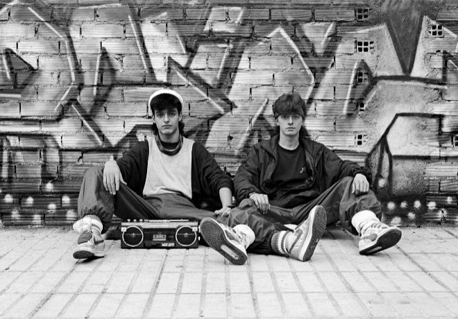 'Callejones y Avenidas, Miguel Trillo (Breakers) ', fotografía expuesta en la muestra 'La primera movida'.