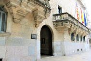 Entrada de la Audiencia de Palma, donde se celebra el juicio.