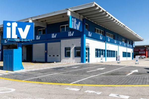 Un centro de ITV en Vallecas (Madrid).