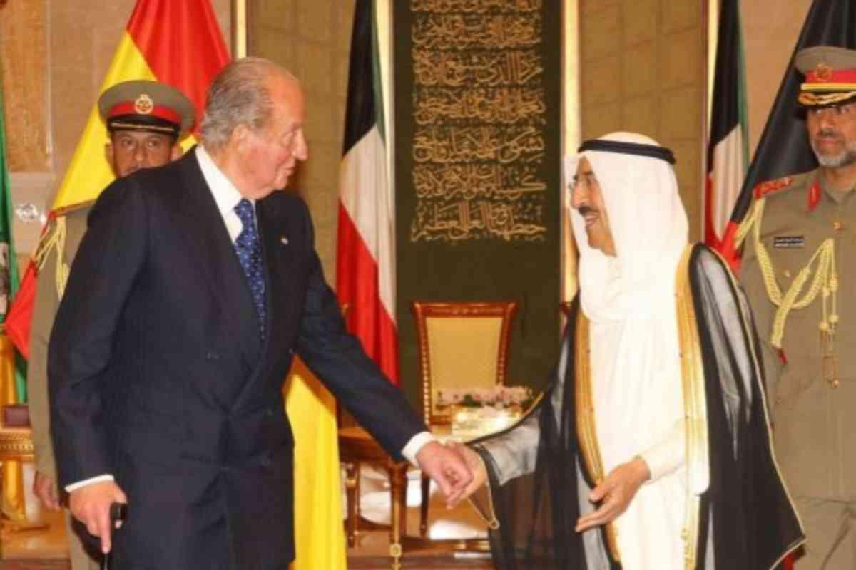 Otro encuentro del monarca español y el emir kuwaití, en 2014.