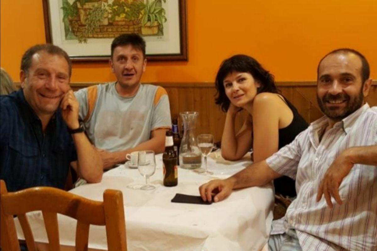 Los hermanos Castro, propietarios de los restaurantes Artemisa.