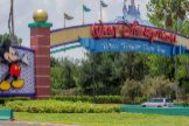 Entrada al DisneyWorld de Orlando