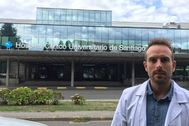 El investigador gallego Anxo Fernández.