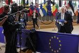 El vicepresidente de la Comisión y Alto Representante para la Política Exterior de la Unión Europea, Josep Borrell, la semana pasada en Bruselas.