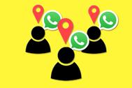Cómo conocer la ubicación de tus contactos de WhatsApp