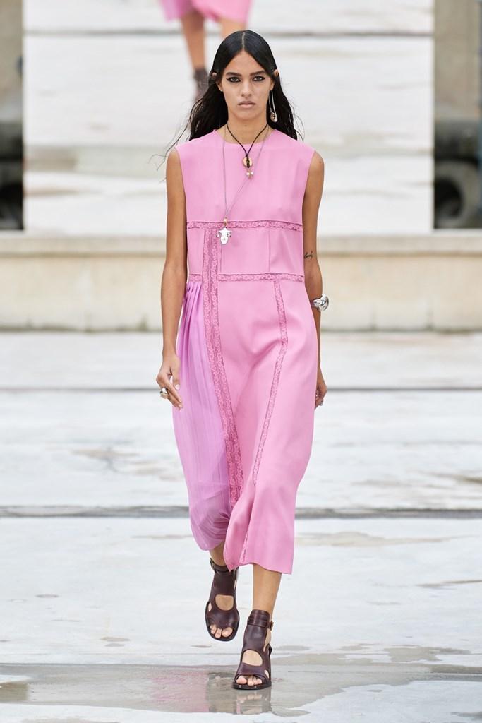 Desfile de Chloé - Colección primavera-verano 2021 - Semana de la Moda de París