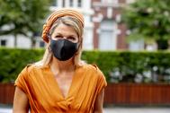 Máxima de Holanda, la reina del color block con dos looks en menos de 24 horas