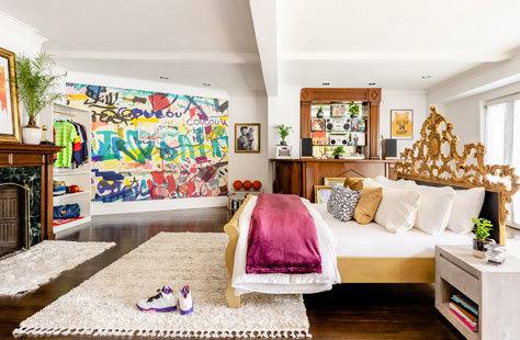 Una habitación de la casa de 'El príncipe de Bel Air'.