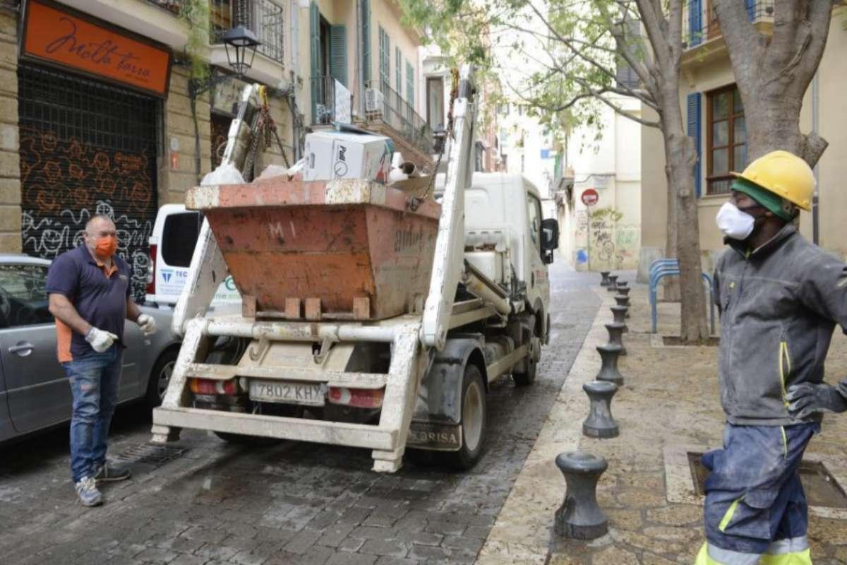 La construcción, prácticamente el único sector que ha experimentado un repunte en Baleares.