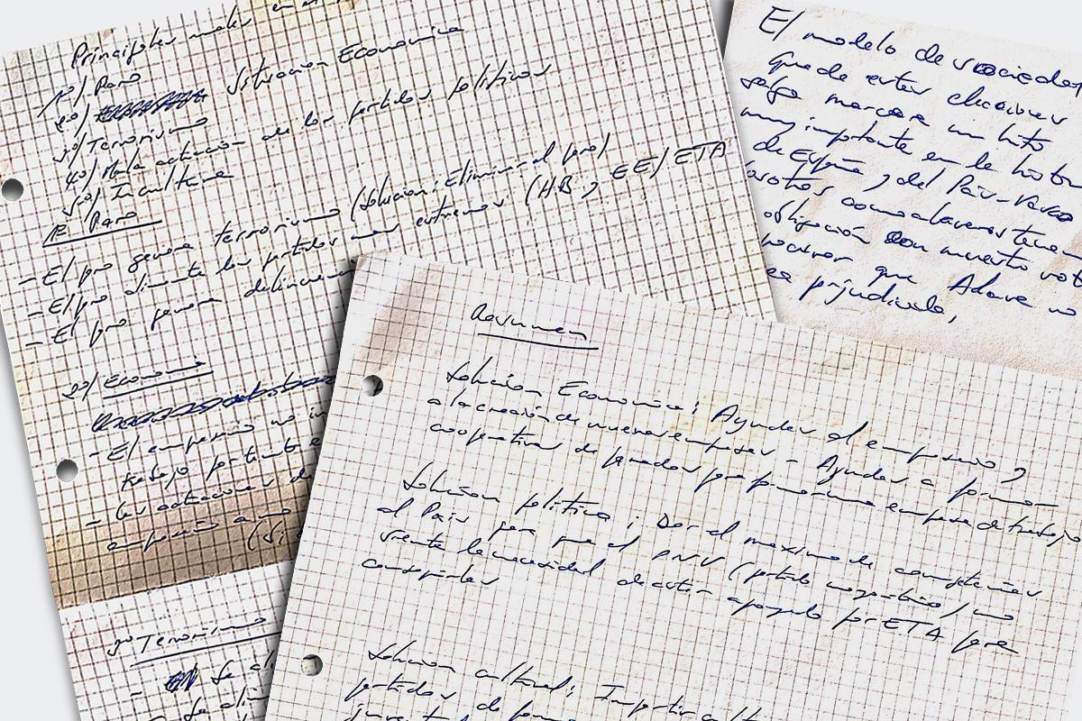 Las recetas contra el terrorismo que Ustaran escribió días antes de su asesinato