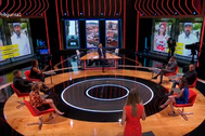 Plató de 'La pr1mera pregunta', el nuevo programa de debate de La 1.