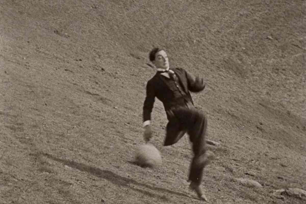 Keaton, en una escena de la película Siete ocasiones.