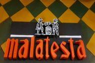 Histórica cervecería alicantina, Malatesta.
