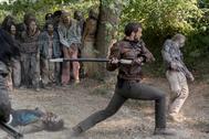 Nico Tortorella (Félix), en 'The Walking Dead: World Beyond'.