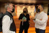 Momento de la presentación de 'Alicante, plató de cine'.
