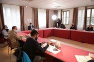 Reunión del pleno del Consell este fin de semana en Cofrentes.
