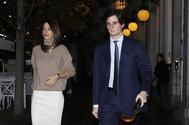 Sofia Palazuelo y Fernando Fitz James en Madrid en noviembre de 2019