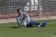 El portero de la selección española de fútbol David De Gea