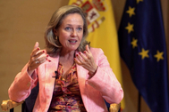Nadia Calviño, ministra de Asuntos Económicos y Transformación Digital de España