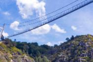 A punto de inaugurarse el puente colgante y peatonal más largo del mundo
