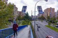 Madrid, el pasado sábado, tras entrar en vigor las restricciones.