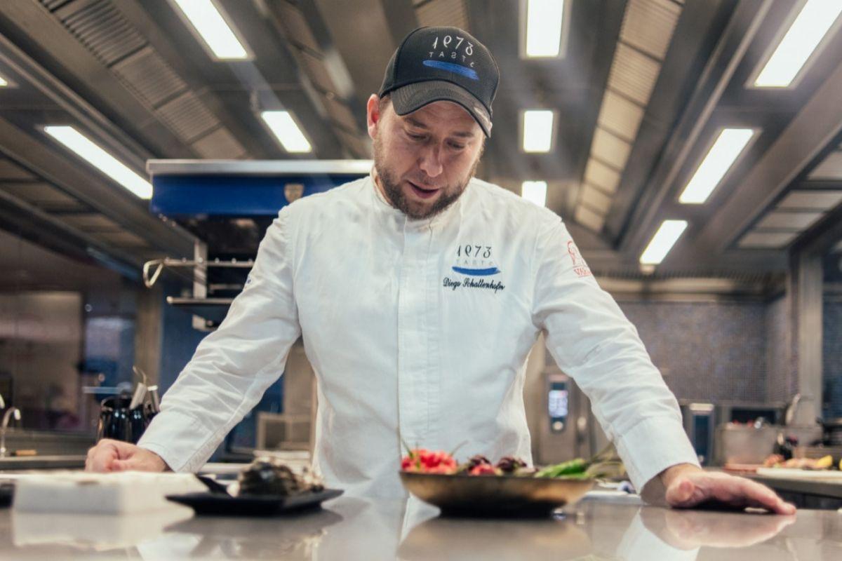 El chef argentino Diego Schattenhofer.
