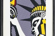Obra de Roy Lichenstein, en la exposición de CaixaForum.